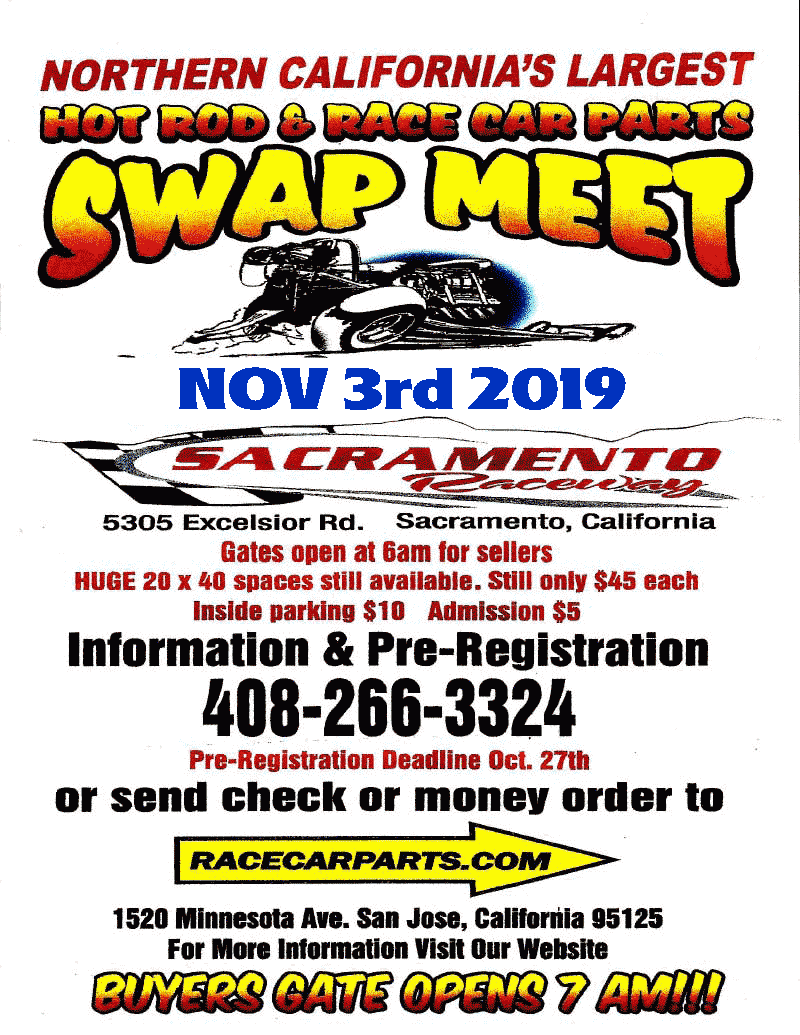 2019 Hot Rod & Race Car Swap Meet