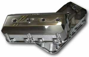 Polished billet valve covers for 392 hemi