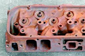 BB Chevrolet  990 iron square port cylinder heads