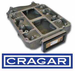 Magnesium CRAGER 392 blower manifold