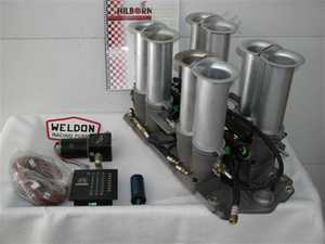 Complete new Hilborn electronic fuel injection EFI kit