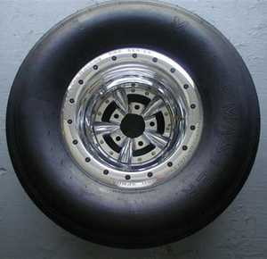 Weld Wheel / American Racing 11x16 double beadlock torque thrust wheels