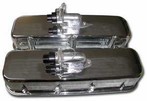 Polished Cast Valve Covers