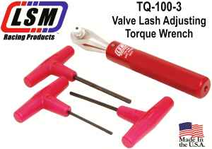 LSM TQ-100-3 Valve adjusting wrench