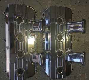 392 HEMI /417 DONOVAN Polished Valve Covers