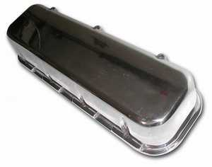 Big block Chevy polished aluminum valve covers
